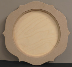 DCC #  5 Round Six-Point Tray $26.00
