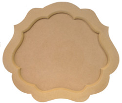 DCC #  6 Large Two-Point Tray $30.00