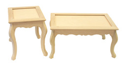DCC # F-6 Chippendale and End Table Special $260.00