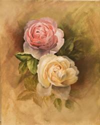 DVD4018 Art of Vignette Florals