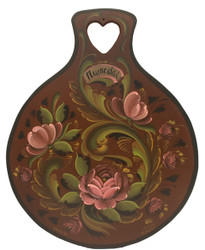 SOLD Numedal Rosemaling Lefsa Board-SOLD