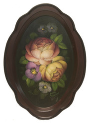 Dutch Floral Tray