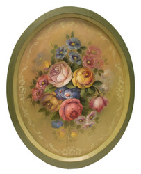 Large Oval Direct Floral  $350.00 SOLD