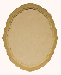 DCC # 22 Victorian Oval Scalloped