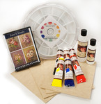 DVD1049Kit  Beginners Guide to Paint It Simply Flowers