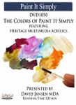 DVD1050 Colors of Paint It Simply