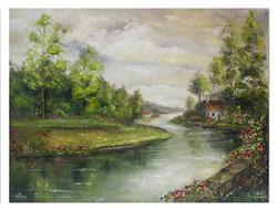 DVD1056 The Way Home- Paint It Simply Concept Landscape