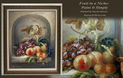 P1201- Fruit in a Niche- Printed