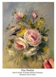 P1117 Pine Warbler- Printed