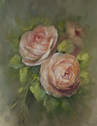 P5027P Ambridge Roses- Printed