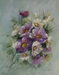MS1006 Prairie Roses & Daisies
