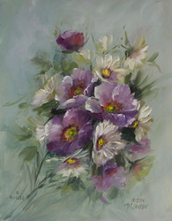 Prairie Roses & Daisies Mini Study