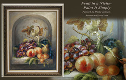 P1201- Fruit in a Niche- Amazon Printed