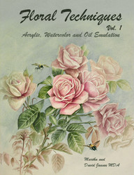 B5003 Floral Techniques Vol 1- Printed Version