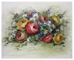 DVD1084 Painting Gouache Flowers