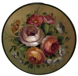 L2033 Warm & Cool Study: Rose Round Box