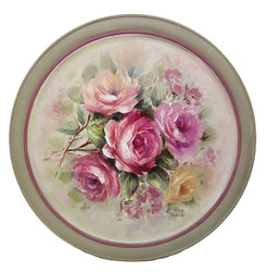 DVD1085 Heritage Rose Porcelain Technique