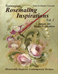 B5017E Rosemaling Inspirations- Download