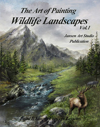 B5020- Wildlife Landscapes- Art of Painting- Printed