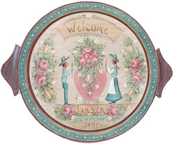 P1016 Welcome Plate $6.95