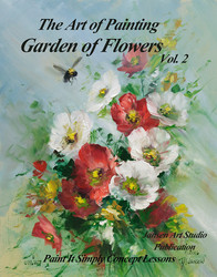 B5034 Garden of Flowers Vol. 2- Art of Painting
