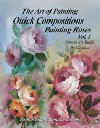 B5037 Quick Compositions - Painting Roses Vol. 1