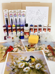 The Art of Painting Birds Class Kit
