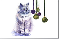 Christmas Postcards [Package of 25] | Persian Cat