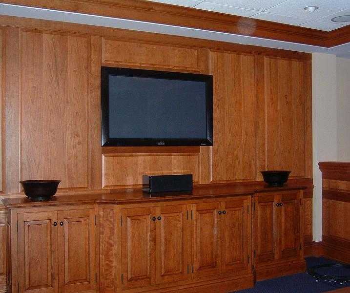 Stadium Club with custom wainscoting
