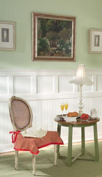 Classic Cottage Wainscoting White