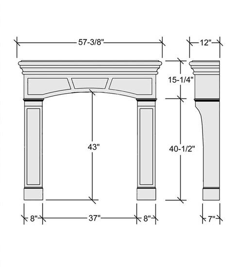 Fireplace Dimensions 28 Corner Fireplace Dimensions Vanguard Wood Burning Corner 89 Fireplace