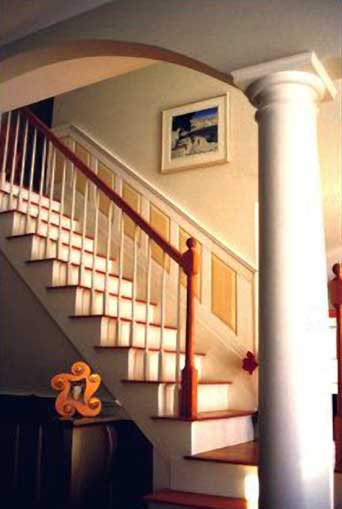Wainscoting for Stairs