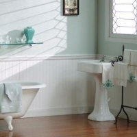 "Wainscot Paneling Collection - 48""W x 32""H Plywood"