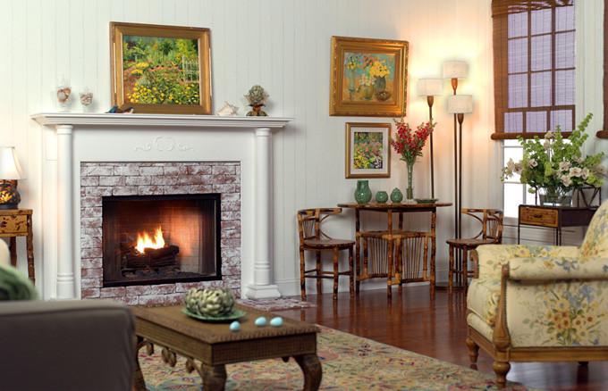 Wood Fireplace Mantels | Georgetown