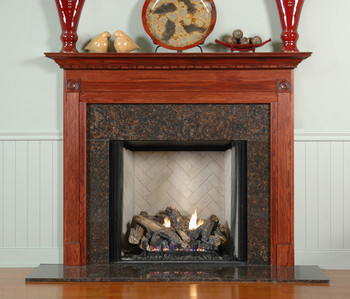 available in different wood types and colors the gardendale custom fireplace mantel is preferred in - Wood Mantels