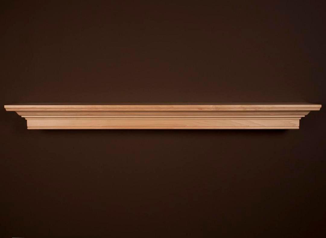 Mantel shelves daphne mantel shelf custom sizes - Types fireplace mantel shelves choose ...