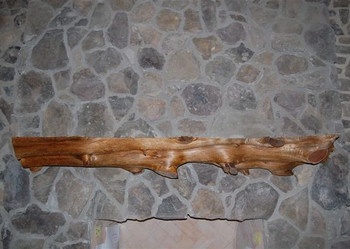 Timber Mantel Shelves - natural and unique
