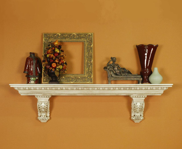 The Athens mantel shelf features detailed egg and dart molding