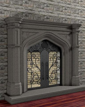 This large Gothic stone is available in four different colors