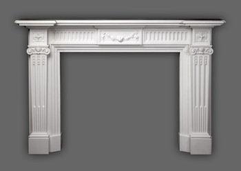 Enhance the look of your home or office with the Federal marble mantel.