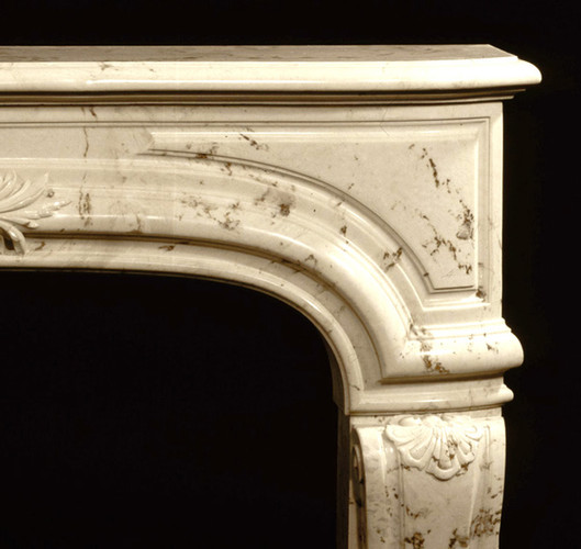 The corners have a classy rounded arch
