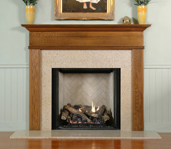 Granite For Fireplace Surround. Our granite surrounds are available in two sizes  with custom cuts and edge polishing Golden Sand Granite Fireplace Surround Facing