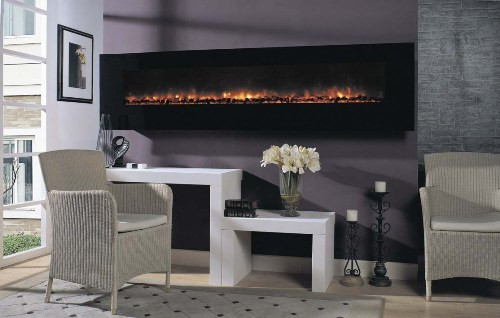 Electric Fireplace   94 inch   Large