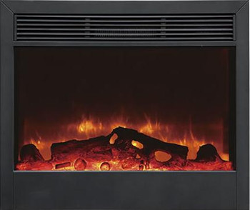 "SD39"" Electric Fireplace, features realistic flames, space heater (5,000 Btu's at High) and a remote control.  Inserts into a cabinet, a mantel or into the wall.  Approximately 39""W x 32""H x 8""D"