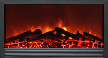 "The S14W 58""  Electric Fireplace features electric 'flame' technology for realism.  This fireplace also features an fan assisted space heater (5,200 Btu's at High and 2,500 Btu's at Low) and a multi-function hand-held infrared remote control.  Insert this fireplace into a cabinet, a cabinet-style mantel or into the wall."