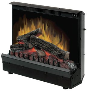 The actual insert 'slides' into an existing wood or gas burning fireplace, plugs into a regular 120V outlet with its three-prong electric appliance cord (supplied) and you're ready to go!