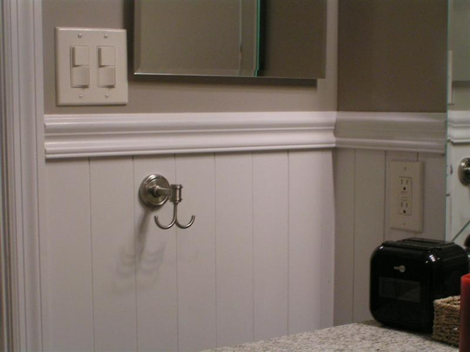 Foyer Paint Kit : Wainscot kit wk from to quot tall beadboard or plank