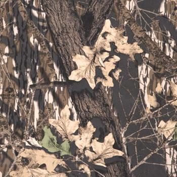 Detail image of mossy oak paneling