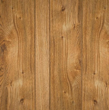 Gallant oak wall paneling has 9-grrove pattern.  Medium dark brown