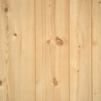 Rustic pine wall paneling in 4 x 8 sheets